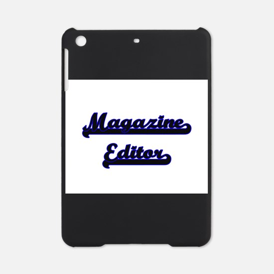 Magazine Editor Classic Job Design iPad Mini Case