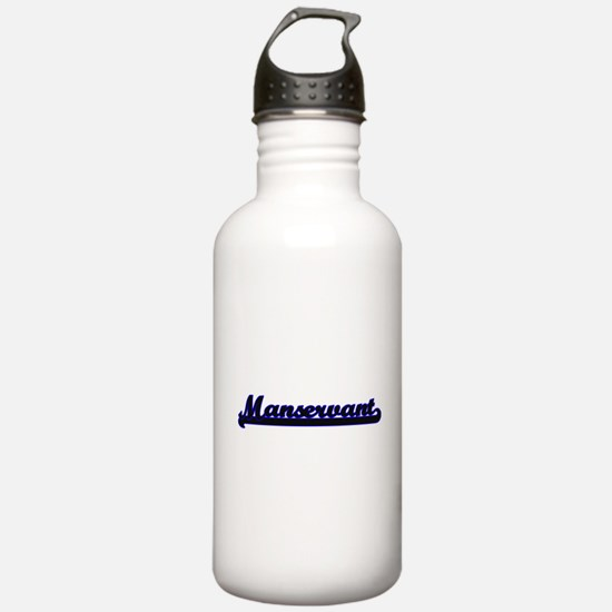 Manservant Classic Job Water Bottle