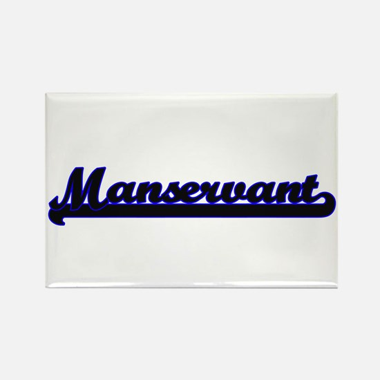 Manservant Classic Job Design Magnets