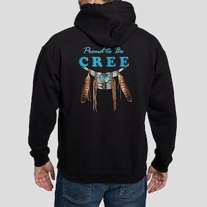 Proud to be Cree Hoodie (dark)
