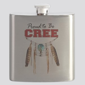 Proud to be Cree Flask
