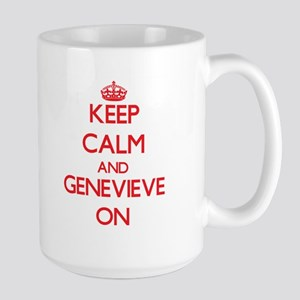 Keep Calm and Genevieve ON Mugs