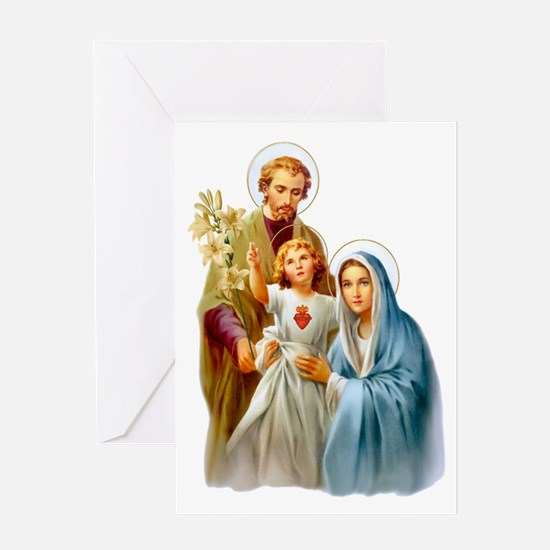 The Holy Family (Style 2 Greeting Cards