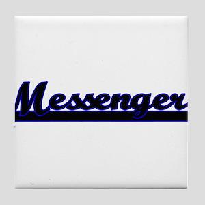 Messenger Classic Job Design Tile Coaster