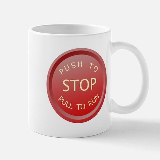 redbutton2 Mugs