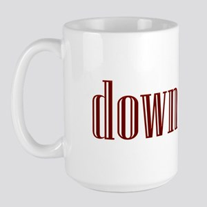 Down Neck Large Mug