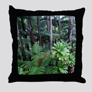 Tropical Forest 12 Throw Pillow