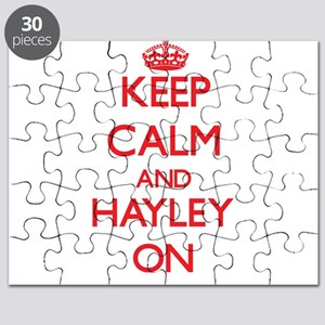 Keep Calm and Hayley ON Puzzle