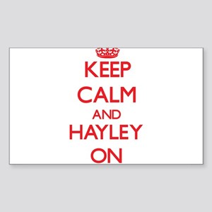 Keep Calm and Hayley ON Sticker