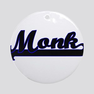 Monk Classic Job Design Ornament (Round)