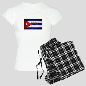 La Habana Cuba Flag Women's Light Pajamas