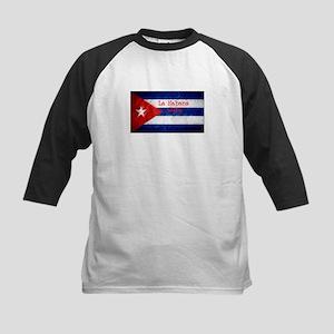 La Habana Cuba Flag Baseball Jersey