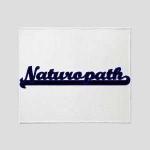 Naturopath Classic Job Design Throw Blanket