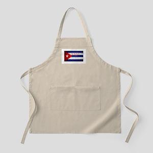 La Habana Cuba Flag Apron