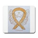 Amber Ribbon Angel Mousepad
