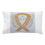 Amber Ribbon Angel Pillow Case