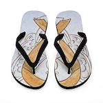 Amber Ribbon Angel Flip Flops