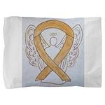 Amber Ribbon Angel Pillow Sham