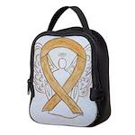 Amber Ribbon Angel Neoprene Lunch Bag