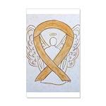 Amber Ribbon Angel Wall Decal