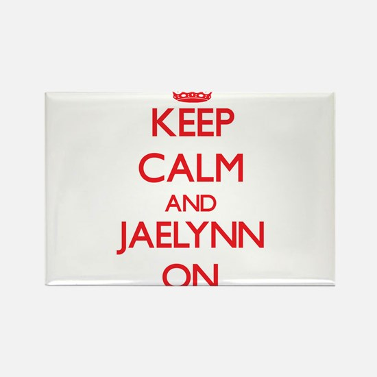 Keep Calm and Jaelynn ON Magnets