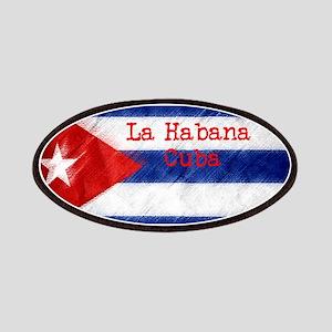 La Habana Cuba Flag Patch
