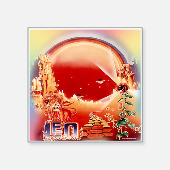 70's Vintage LEO Sticker