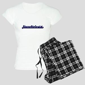 Neurobiologist Classic Job Women's Light Pajamas
