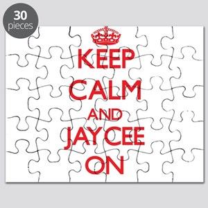 Keep Calm and Jaycee ON Puzzle