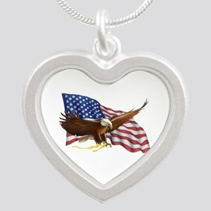 American Flag and Eagle Necklaces