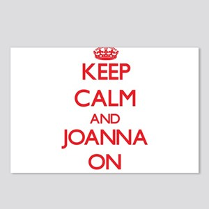 Keep Calm and Joanna ON Postcards (Package of 8)