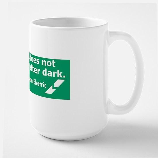 Lucas Electric Motor After Dark Large Mug