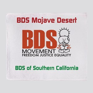 BDS Mojave desert Throw Blanket