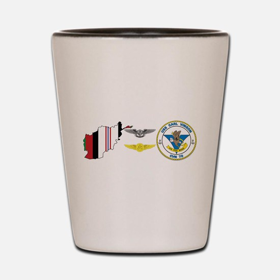 Oef Aircrew Aw Shot Glass