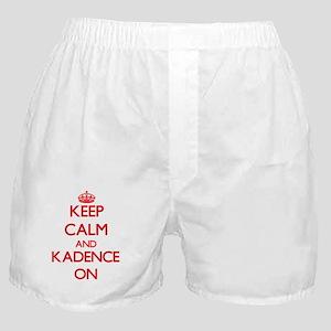 Keep Calm and Kadence ON Boxer Shorts