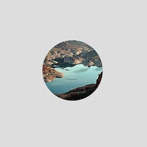 Dangling Rope Marina, Lake Powell, Uta Mini Button