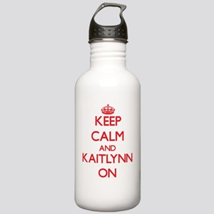 Keep Calm and Kaitlynn Stainless Water Bottle 1.0L