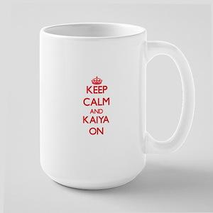 Keep Calm and Kaiya ON Mugs