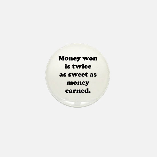 Cute Craps Mini Button