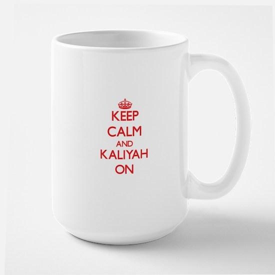 Keep Calm and Kaliyah ON Mugs