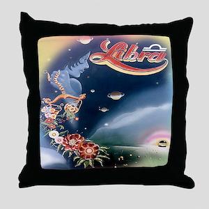 70's Vintage LIBRA Throw Pillow