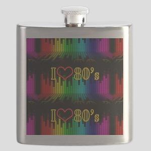 i love 80s Flask