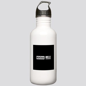 U.S. Flag: Montana Stainless Water Bottle 1.0L