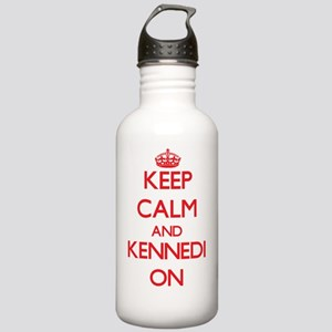 Keep Calm and Kennedi Stainless Water Bottle 1.0L