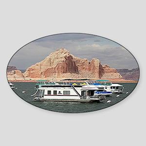 Houseboat, Lake Powell, Arizon Sticker