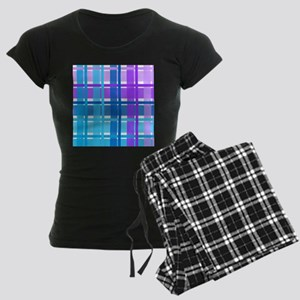 d879c777399d Blue Gingham Women s Pajamas - CafePress