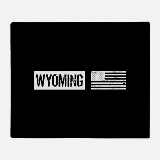 U.S. Flag: Wyoming Throw Blanket