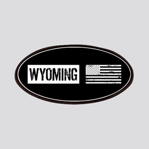 U.S. Flag: Wyoming Patch