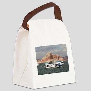Houseboat, Lake Powell, Arizona, Canvas Lunch Bag