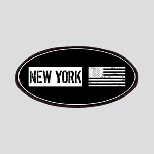 Black & White U.S. Flag: New York Patch